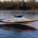 Louis Glastron speed boat 381 SB chev 470 HP 75+ mile on radar